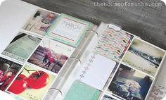 My Insta-Life 2012 Album & Project Life Giveaway