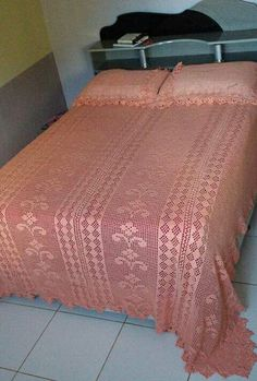 Crochet Bedspread Pattern, Bed Spreads, Furniture, Home Decor, Decoration Home, Room Decor, Home Furnishings, Home Interior Design, Home Decoration