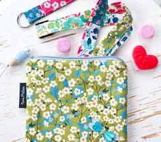 novamelina  Cutest pouches etc./ Ihanimmat pussukat ym: www.novamelina.com  #colorful #handmade #unique #pouch #pouches #liberty #art #fabrics #libertyoflondon #finnish #design