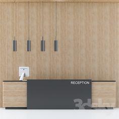 Office Ceiling Design, Modern Office Design, Modern Offices, Hotel Reception Desk, Reception Desk Design, Clinic Interior Design, Lobby Interior, Lobby Design, Küchen Design