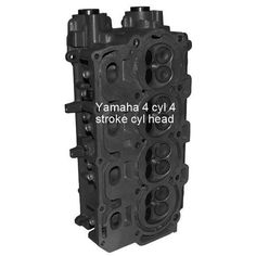 Yamaha Outboard Cylinder Head 4 cyl, 4 stroke, 75-150 HP, 1999-current, remanufactured (price includes refundable core charge and free shipping) - Rainboat.com