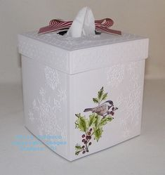 Directions here to make your own tissue box