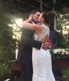 Eric y Judith nos emocionan con sus palabras, las nuestras sólo pueden ser de orgullo y satisfacción por conocer a personas tan especiales. ¡Enhorabuena, pareja! #enlace #boda #Zaragoza