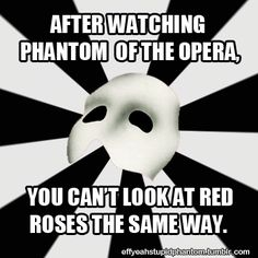 Truth. Seriously. And I can't say a rose (red) without saying single red rose. I never can. Seriously.