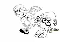 Les 68 Meilleures Images De Splatoon Coloriage Noël Disney