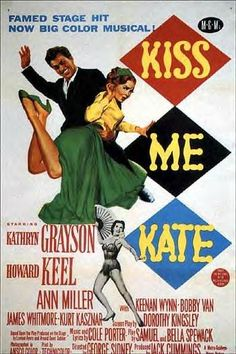 Kiss Me Kate (1953) - Fred and Lilly are a divorced pair of actors who are brought together by Cole Porter who has written a musical version of The Taming of the Shrew. Of course, the couple seem to act a great deal like the characters they play. A fight on the opening night threatens the production. Want to watch it but I will probs hate it because taming of the shrew is super misogynistic