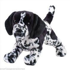 "HUNTER 12"" plush BLACK GERMAN SHORTHAIRED POINTER DOG stuffed animal Douglas #Douglas"