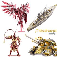Piececool Metal assembly model Puzzle Creative toys Home Furnishing ornaments Monkey King COLORFUL PEACOCK Creative gifts toy Computer Gadgets, Electronics Gadgets, Cube Puzzle, Monkey King, Assemblage, Creative Gifts, Home Furnishings, Toys, Stuff To Buy
