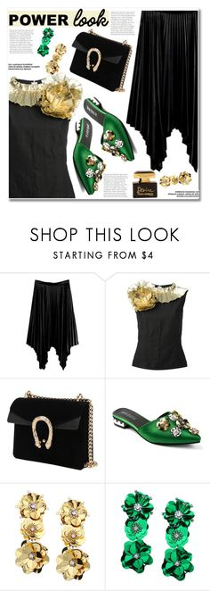 """""""GIRL POWER: Power Look"""" by gamiss ❤ liked on Polyvore featuring Dries Van Noten, Dolce&Gabbana, casual, girlpower, powerlook, zaful and gamiss"""
