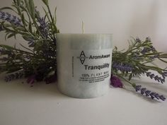 Tranquility candle burns for approx 50 hours £5