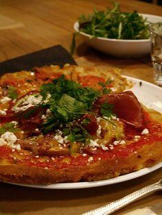 Pizza sans gluten de chez Noglu à Paris