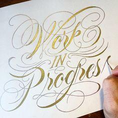 type lettering by Nim Ben-Reuven