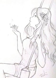 Sketch of Alaska Young from Looking for Alaska Alaska Young, John Green Books, Looking For Alaska, Anime Sketch, This Book, Sketches, Drawings, Quotes, Art