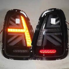 Mini Cooper Custom, Mini Cooper S, Mini Cooper Interior, Mini Cooper Accessories, Custom Headlights, Cooper Car, Car Interior Accessories, Led Tail Lights, Car Brands