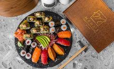Lososovo-tuniakový sushi set pre dvoch v hoteli Mama's