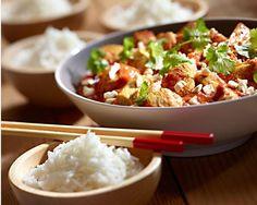Kurczak po indyjsku #lidl #przepis #kurczak Lidl, Kung Pao Chicken, Pasta Salad, Potato Salad, Chili, Curry, Goodies, Potatoes, Cooking