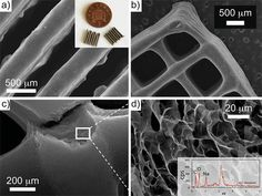 Graphene structures created with 3D printing