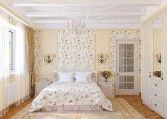 Отличный интерьер спальной станет просто находкой для любителей светлых…