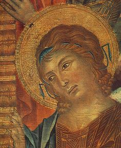 CIMABUE - -madonna- The Madonna in Majesty (detail)2 | by Faces of Ancient Europe