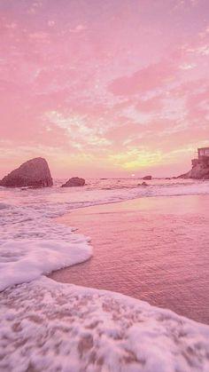 67 Ideas Kawaii Wallpaper Pastel Peach For 2019 Strand Wallpaper, Wallpaper Sky, Pink Wallpaper Backgrounds, Summer Wallpaper, Aesthetic Pastel Wallpaper, Aesthetic Backgrounds, Cute Wallpapers, Aesthetic Wallpapers, Painting Wallpaper