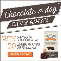 Chocolate A Day Deluxe Multivitamin + Win 1 Year of Chocolate -