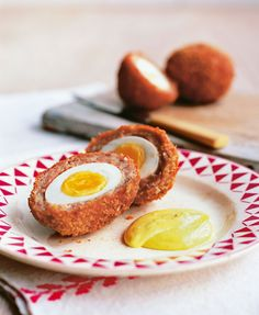 James Martin's scotch eggs are simple and delicious. The spiced mayonnaise is a welcome addition to this classic snack.