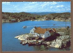 Brekkestø. Justøya Lillesand kommune.