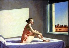"""""""Morning Sun"""", 1952, Edward Hopper"""