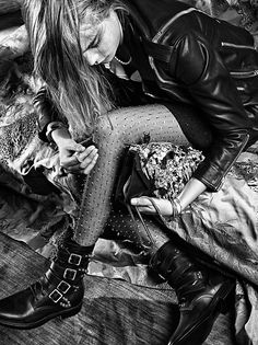 HEDI SLIMANE FASHION DIARY LOS ANGELES / SAINT LAURENT CARA AND COLE / MARS 2013