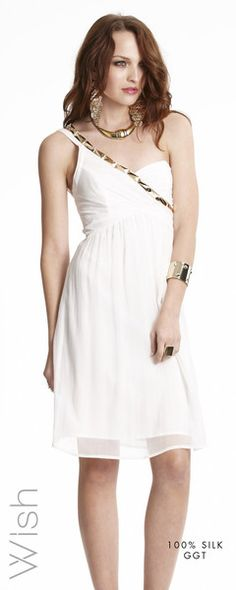 Wish Igneous dress. Fresh white for Spring/Summer $179