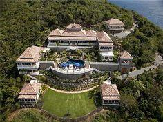 WEB LUXO - IMÓVEIS DE LUXO: A mais bonita mansão no Caribe está a venda por 20 milhões de Euros