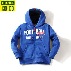 59.38$  Buy here - http://ali86k.worldwells.pw/go.php?t=32771266672 -  Beanbus Spring Autum Childern Clothing Boys Fleece Hoodie Cotton Sudaderas Pullovers Tee Sweater Coat Kids Active Outwear Tops 59.38$