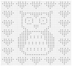 Pixeldeken haken uil