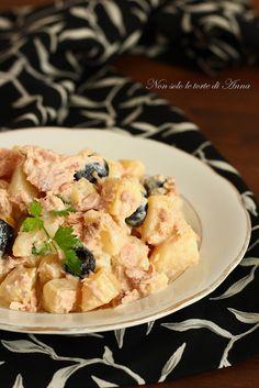 Insalata di patate cremosa, gustosa e saporita