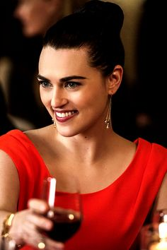 """Katie McGrath as Lena Luthor in """"Ace Reporter"""" Supergirl"""