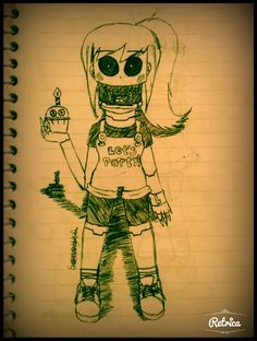 Toy Chica Human - FNAF 2