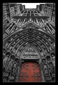 Cathédrale de Strasbourg/Strasbourg Cathedral or the Cathedral of Our Lady of Strasbourg is a Roman Catholic cathedral in Strasbourg, France. Wikipedia  Opened: 1439  Address: Place de la Cathédrale, 67000 Strasbourg, France  Phone: 03 88 32 75 78/Wiki.