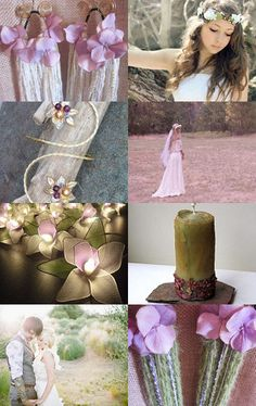 Fairy Wedding - slightly on the hippy side, but lots of great details.