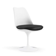 Tulip Armless Chair.  Eero Saarinen original. Cushion in various materials and colors.  Knoll Studio $1396 each.