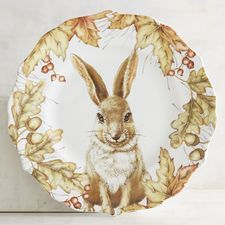 Pier 1 Imports Chloe the Jack Rabbit Salad Plate Vintage Easter, Vintage Tea, Chinese Zodiac Rabbit, Collections Ect, Harvest Kitchen, Jack Rabbit, Shabby Chic Kitchen, China Painting, China Patterns