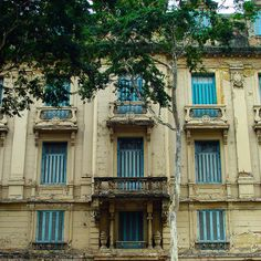 Former Hotel Central at Sao Joao Avenue - Sao Paulo, Brazil
