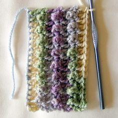Triple Crochet Loops Tutorial ❥Teresa Restegui http://www.pinterest.com/teretegui/❥