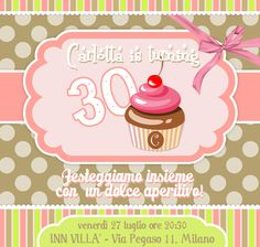 Invitation for 30th Birthday Party (made by Alessandro Lonati)