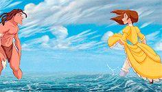 Mickey and Company Tarzan Y Jane, Tarzan Disney, Disney And Dreamworks, Disney Love, Disney Magic, Disney Pixar, Disney Animated Movies, Disney Fanatic, Walt Disney Animation Studios