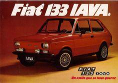 Fiat 133 IAVA (con mejoras en la motorización y la estética exterior)