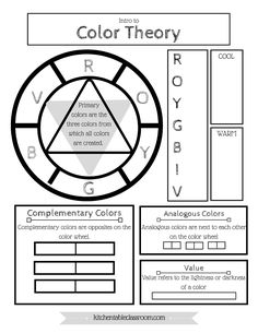 How To Select A Color Scheme Color Wheel Worksheet Art