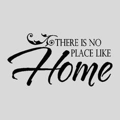 There is no place like home.Family Wall Quotes Words Sayings Removable Home Wall Decal Lettering Missing Home Quotes, Home Quotes And Sayings, Wall Sayings, Quotes Images, Entry Way Lockers, Family Wall Quotes, Real Estate Quotes, Mom Jokes, Peace Quotes