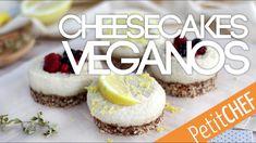 Cheesecakes veganos con anacardos   Petitchef