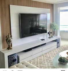 "Acquire excellent pointers on ""tv wall mount hide cords"". They are on call for you on our website. Tv Unit Decor, Tv Wall Decor, Room Interior, Interior Design Living Room, Home Living Room, Living Room Decor, Modern Tv Wall Units, Living Room Tv Unit Designs, Tv Wall Design"
