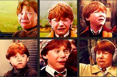 the many faces of Rupert Grint. i love this
